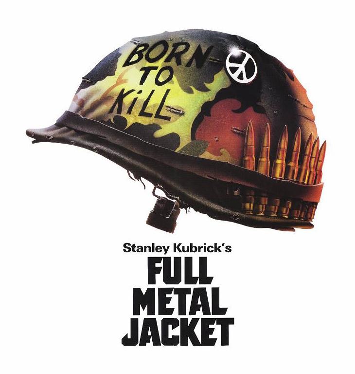 Full metal jacket born to kill helmet