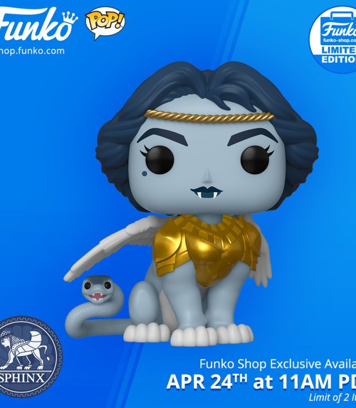 Sphynx funko pop myths